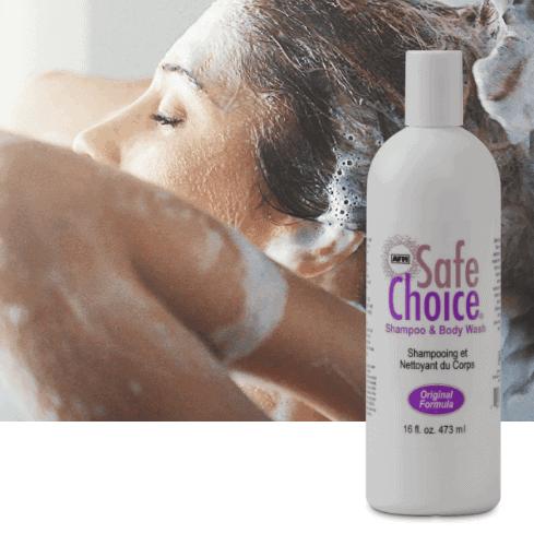 AFM Safechoice Head & Body Shampoo