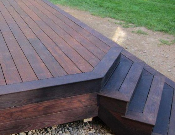 Thermory Solid Ash Wood Decking Building For Health