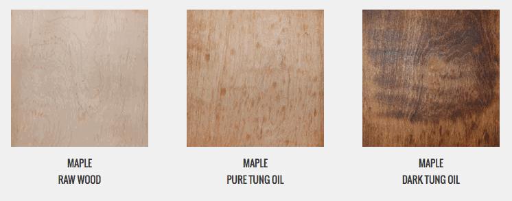 Tung Oil On Oak