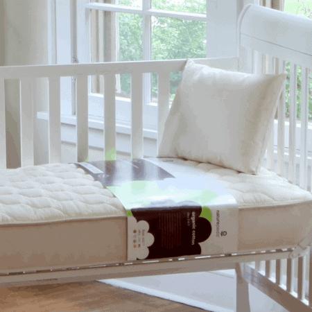 Naturepedic Quilted Series Organic Crib Mattresses
