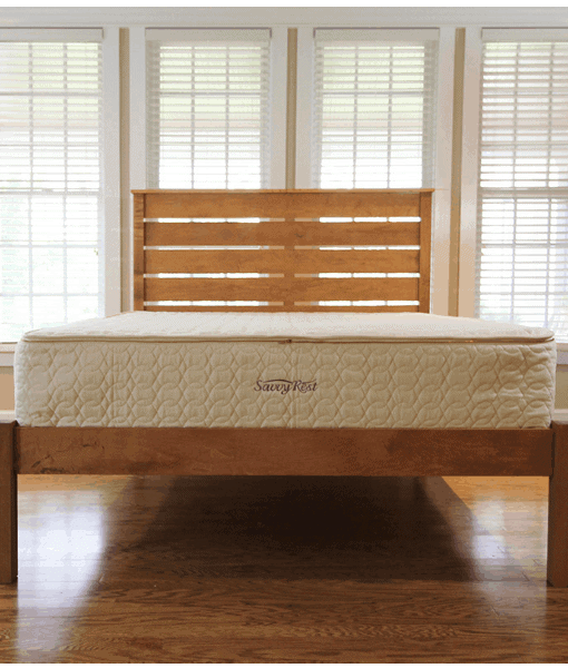 Savvy Rest Serenity Spring Organic Latex Pocketed Coil Mattress
