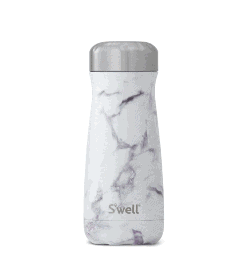S Well Traveler Stainless Steel Water Bottle Green