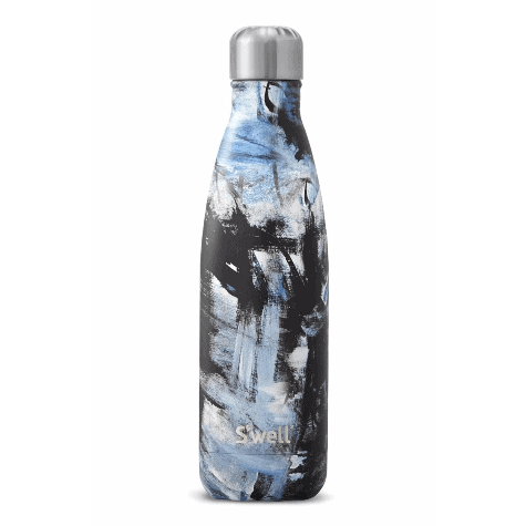 S Well Abstract Collection Stainless Steel Water Bottles