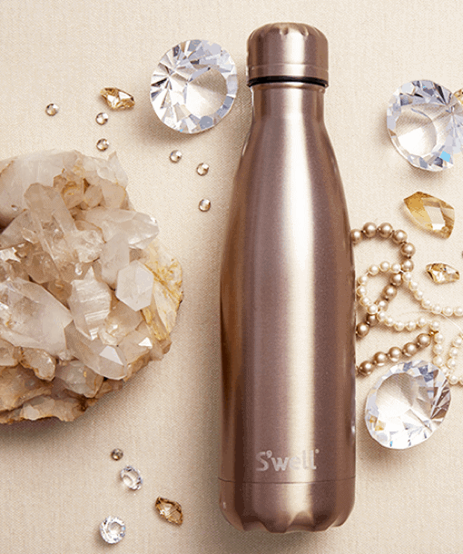 94b33fa34a ... s well gem collection stainless steel water bottle ...