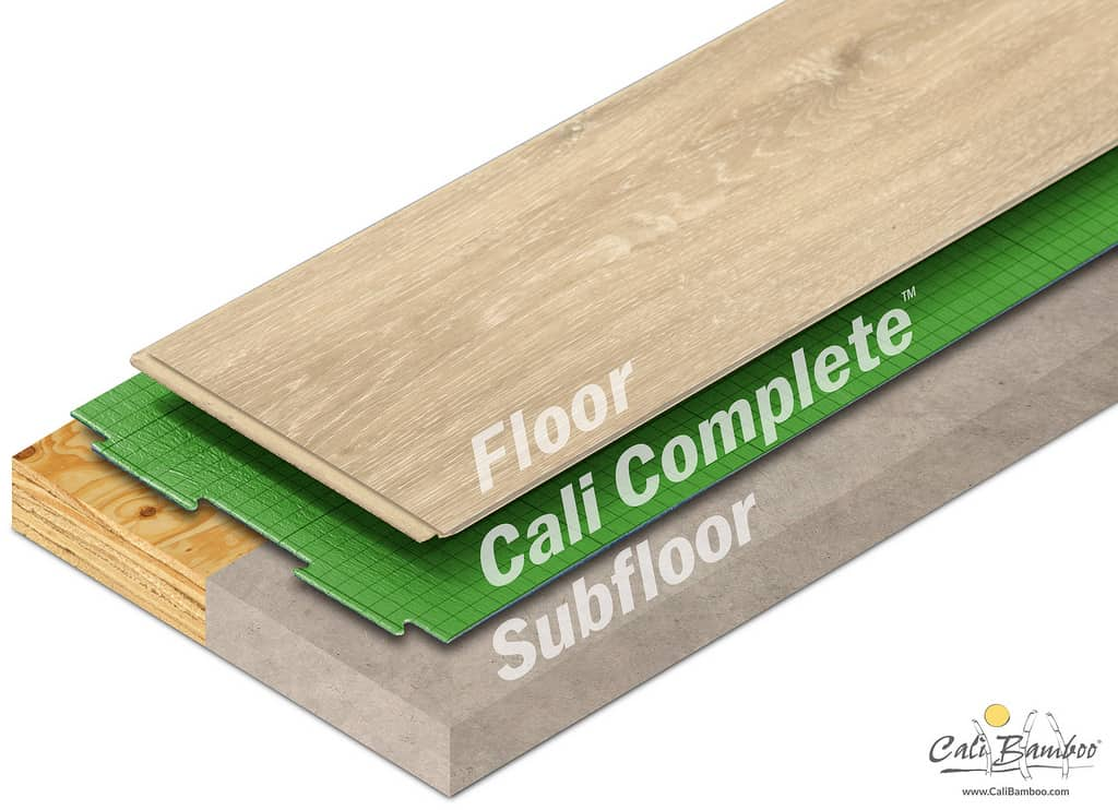 Cali Complete All In One Underlayment