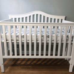 A nontoxic baby crib created by our skilled customer Mark Garster. Primed with Ecolacq Sandable Primer and sprayed with Ecolacq! Nice work, Mark!