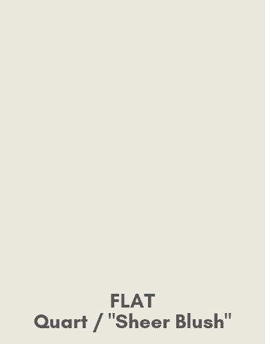 Flat - Quart - Sheer Blush