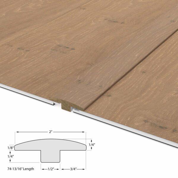 Oak & Maple Geowood T Molding