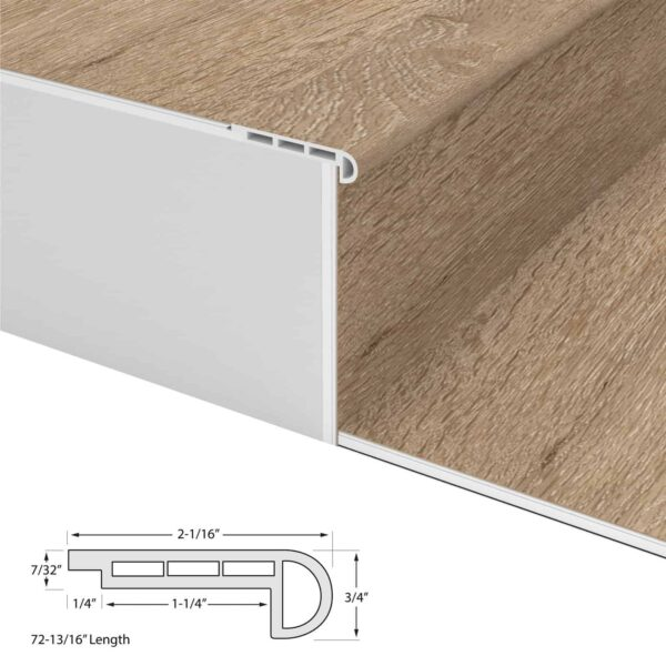 Builder's Choice Flush Stair Nosing
