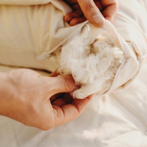 Savvy Rest Organic Kapok Pillow