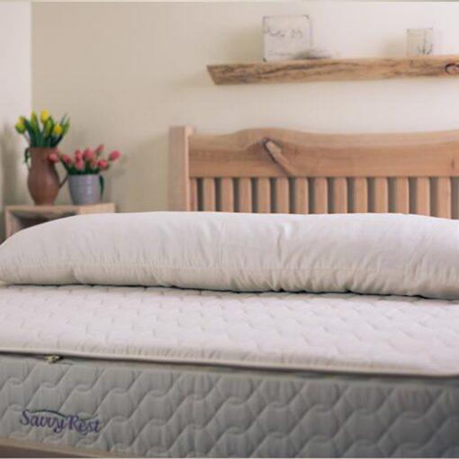 Savvy Rest Shredded Latex Pillow Body Pillow