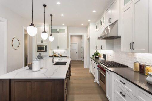 Tawny Oak Geowood in Kitchen