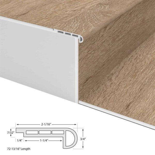 Vinyl PRO Flush Stair Nosing